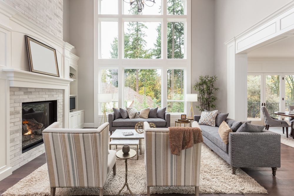 image of newly renovated sitting room