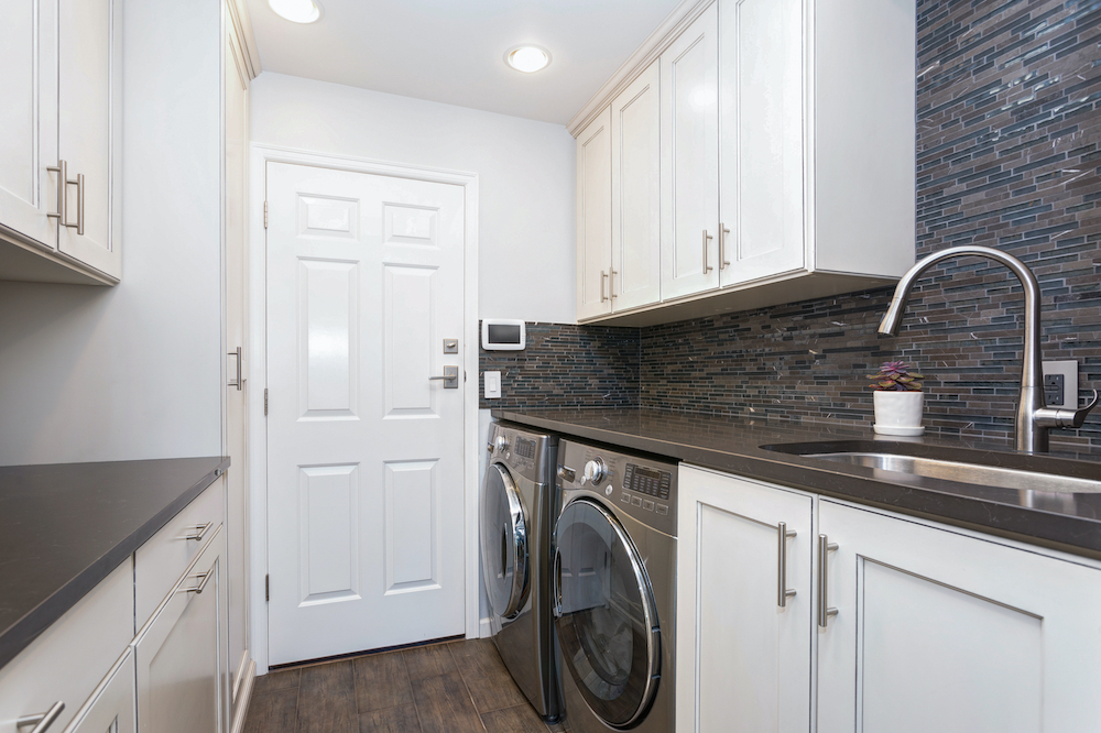 image of newly renovated laundry room